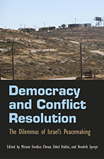 Book Cover: Democracy and Conflict Resolution by Hendrik Spruyt